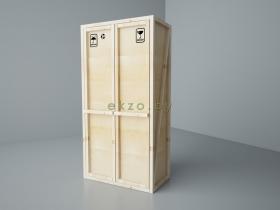 шкаф платяной 900х600х2100_ekzo.by