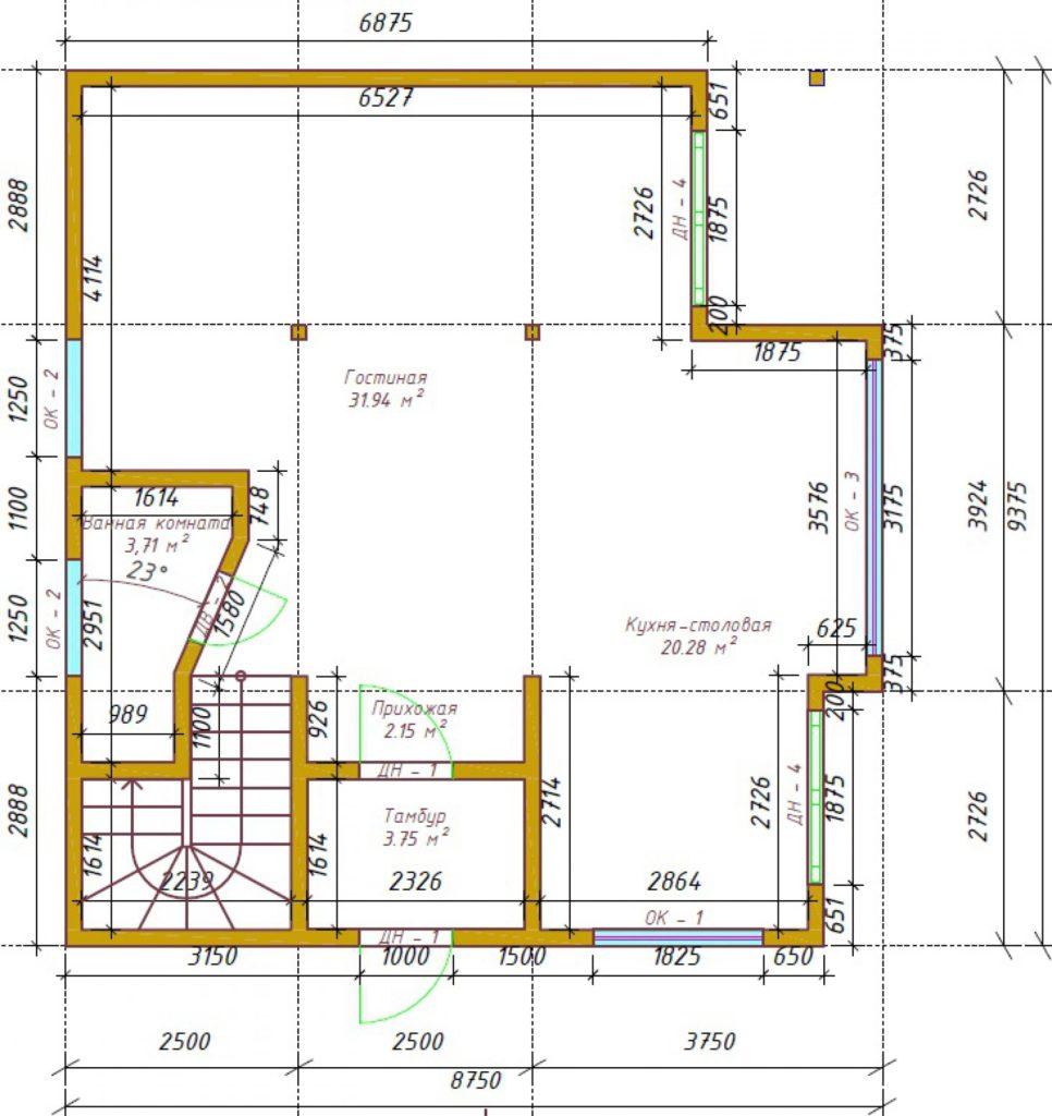 projekt-doma-legenda-154-plan1-s-razmeramy