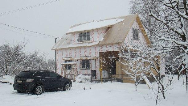 Строим зимой