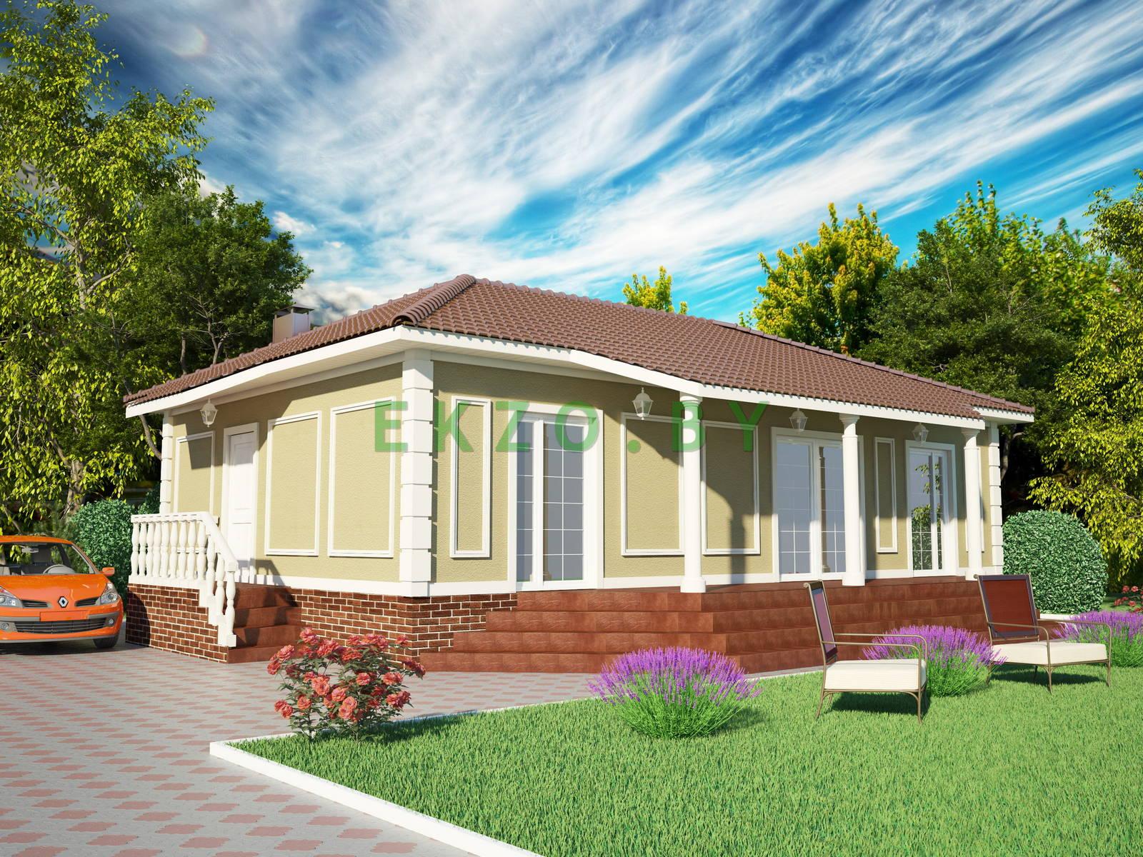 Комфортный дом классика K1 107.5 v1