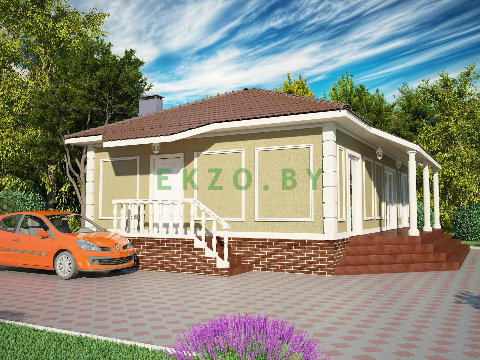 Комфортный дом классика K1 107.5 v2